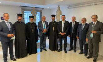 Ο Βλάσης στους Αντιοχείς: Ευχαριστώ τους Ελληνόφωνους Λιβανέζους ιερείς