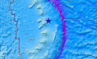 Σεισμός 7.5 Ρίχτερ στον Ατλαντικό Ωκεανό