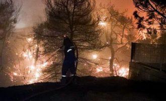 """Καλπάκης: «Συγκρίνουν την τριήμερη άπνοια των 2-3 μποφόρ με την """"πυροθύελλα 12 μποφόρ""""» στο Μάτι"""