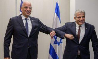 Τηλεφωνική επικοινωνία Δένδια με τον Ισραηλινό ΥΠΕΞ