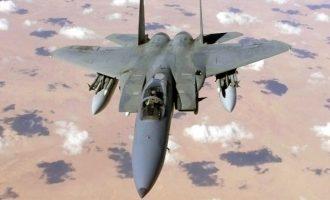 Αμερικανικό F-15 κατέρριψε ιρανικό ντρον πάνω από την ανατολική Συρία