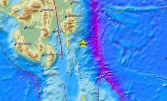 Ισχυρός σεισμός 7,1 Ρίχτερ στις Φιλιππίνες