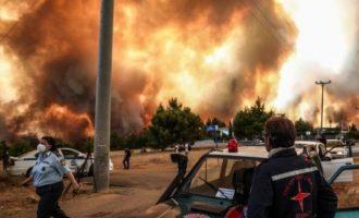 Φωτιά στην Αττική: «Οι καιρικές συνθήκες θα μοιάζουν την Παρασκευή με αυτές του Ματιού»