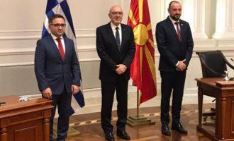 Ποια οικονομικά και επιχειρηματικά θέματα συζήτησε ο Φραγκογιάννης στα Σκόπια