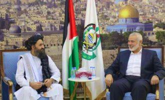 Παλαιστίνιοι πανηγυρίζουν τη νίκη των Ταλιμπάν και λένε ότι τώρα είναι η σειρά του Ισραήλ