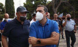 Συγκλονισμένος ο Τσίπρας για τον ξαφνικό θάνατο του Κωνσταντίνου Μίχαλου