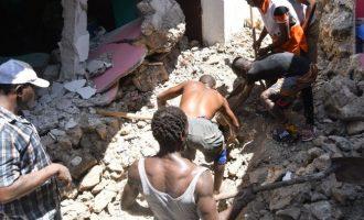 Αϊτή: Στους 724 αυξήθηκε ο απολογισμός των νεκρών από τον σεισμό