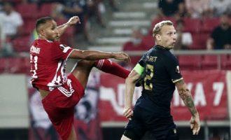 Europa League: Με το δεξί ο Ολυμπιακός 2-1 την Αντβέρπ