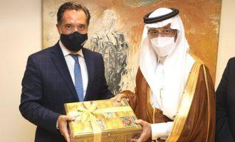 Σαουδάραβας υπουργός: «Δυναμική για οικονομική συνεργασία με την Ελλάδα χωρίς ιστορικό προηγούμενο»