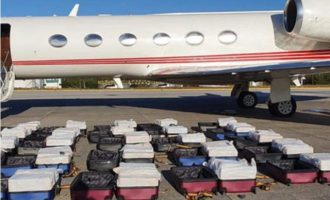 Βραζιλία: 1,3 τόνους κοκαΐνη σε αεροπλάνο που ανήκει σε φίλο του Ερντογάν