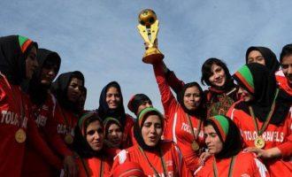 Η γυναικεία ομάδα ποδοσφαίρου του Αφγανιστάν κατέφυγε στο Πακιστάν