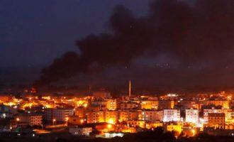 Αεροπορική επιδρομή του Ισραήλ σε στόχους στη Δαμασκό