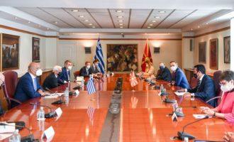 Τι λένε τα Σκόπια για τη συνάντηση του Νίκου Δένδια με τον Ζόραν Ζάεφ