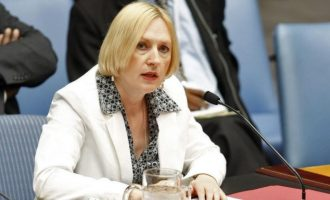 Ελίζαμπεθ Σπέχαρ: Χρειάζεται και εμπλοκή των πολιτών για να λυθεί το Κυπριακό