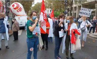 Γαλλία: Από την Τετάρτη μόνο εμβολιασμένοι υγειονομικοί θα προσφέρουν υπηρεσίες