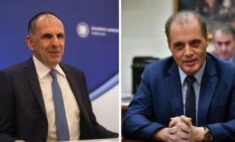 Συνάντηση Γεραπετρίτη με Βελόπουλο στο γραφείο του δεύτερου στη Βουλή
