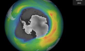 Η τρύπα του όζοντος πάνω από τον Νότιο Πόλο φέτος κατά 75% μεγαλύτερη